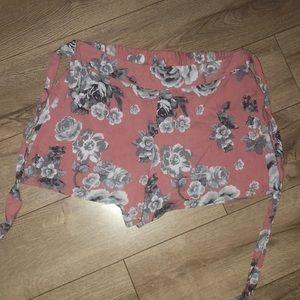 R21 Tie  shorts